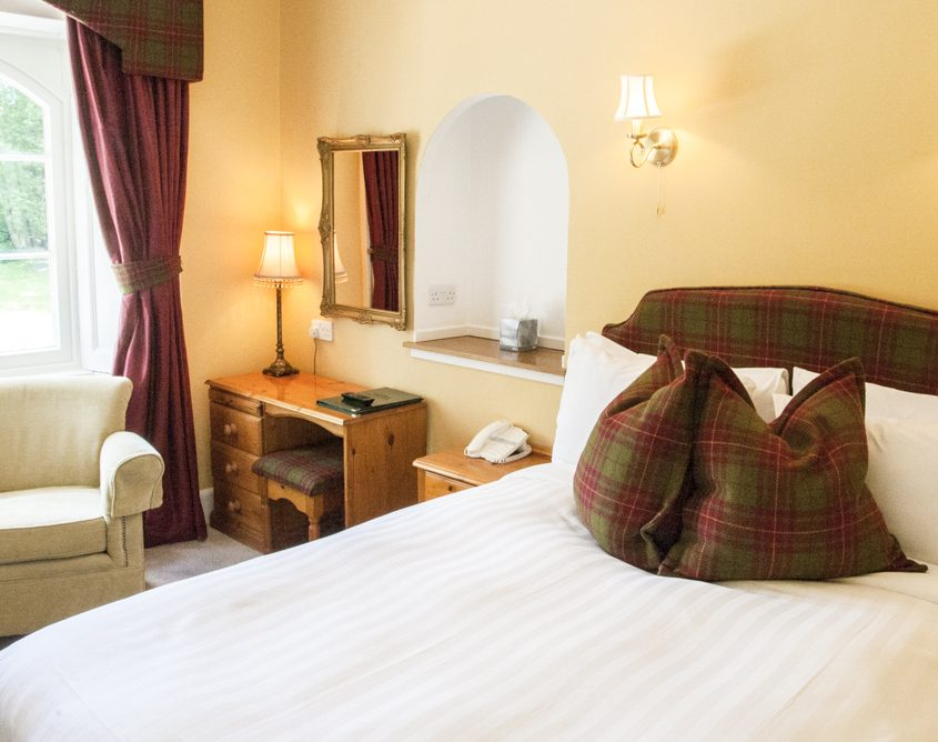 Scottish Highlands Boutique Hotel, small double room.