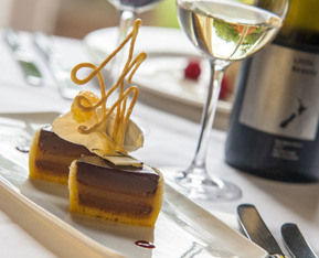 Fine Dining in the Scottish Highlands at Coul House Hotel, Contin near Inverness.