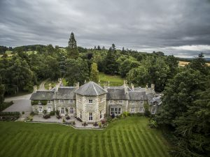 Coul House Hotel, nr Contin, Scotland.