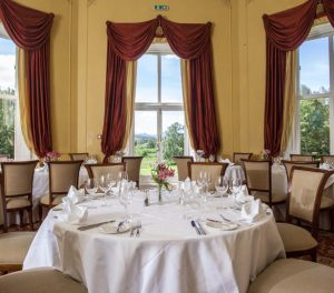 Fine Dining Experience at the Coul House Hotel Contin. Open for Lunch, Dinner or Afternoon Tea