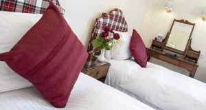 Scottish Highlands Boutique Hotel, large double/twin room.