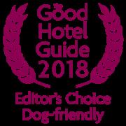 The Good Hotel Guide 2018 Editors Choice Dog-friendly hotel - award