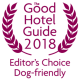The Good Hotel Guide 2018 Editors Choice Dog-friendly hotel - award