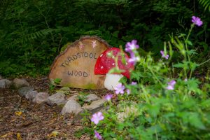 Coul House Hotel Garden, Fairy and Scary trail, could fun for kids, deliciously enchanting.