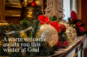 Festive Afternoon Tea at Coul House Hotel this Christmas.