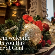 Coul Christmas Menu, visit Coul House for a Christmas banquet, in Contin north of Inverness