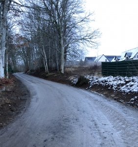 Coul Maintenance at the Coul House Hotel, Contin near Inverness