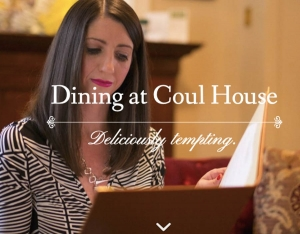 Creative Scottish Cuisine at Coul House Hotel, Contin North of Inverness