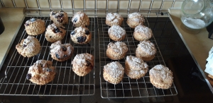 Coul House Scones, Garry's recipe baked by our guests.