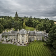 Coul House May Update, Coul House Hotel Contin, in the Highlands of Scotland.