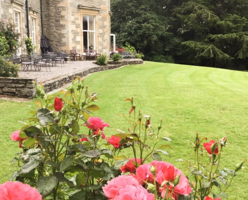 Coul House Re-opening 15th of July 2020. Coul House Hotel, Contin, The Scottish highlands.
