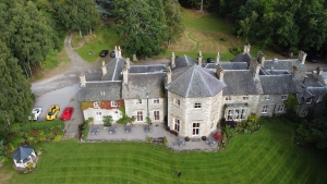 The Coul House Hotel, Contin, North of Inverness at the start of the NC500 route.