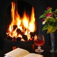 Log Fire Autumn B&B Offer at Coul House Hotel, Contin, 30 minutes North of Inverness.