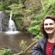 Silverbridge Walk in the Highlands of Scotland near Coul House Hotel, Contin, Scotland.