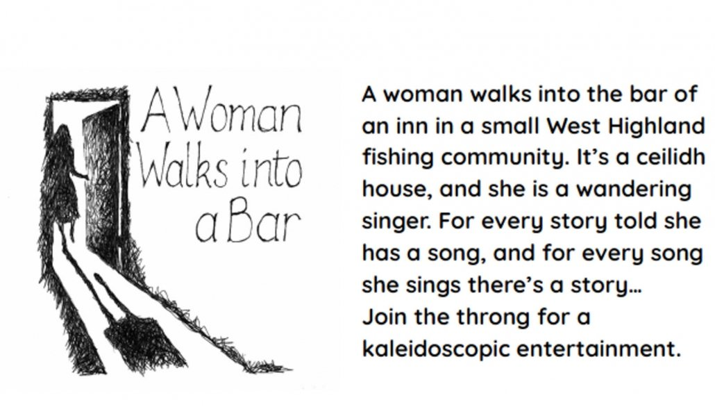 Coul House Theatre presents...A Woman Walks into a Bar. Coul House Hotel is a Scottish Country Hotel in Contin, 25 minutes North of Inverness at the start of the NC500 route to the Scottish Highlands.